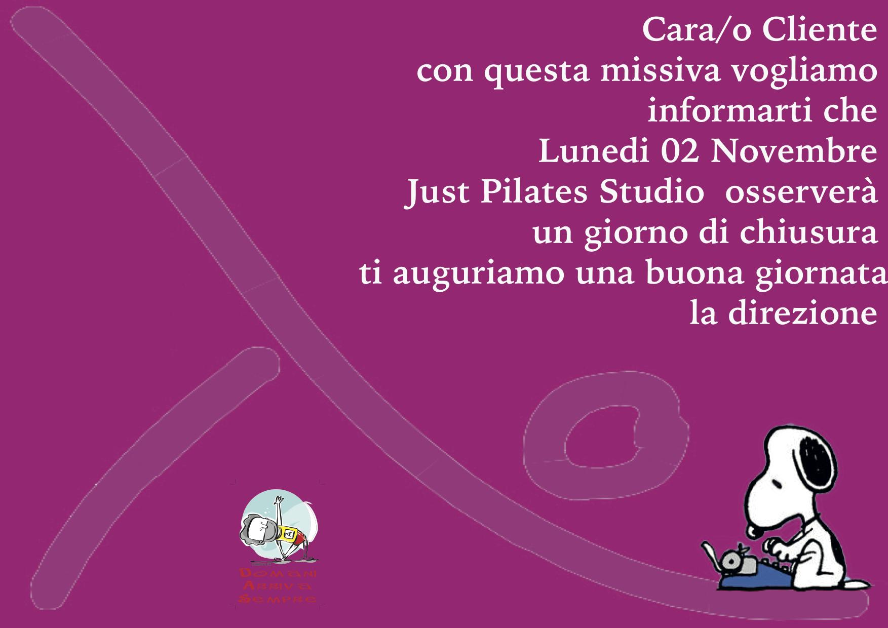 just Pilate Chiuso